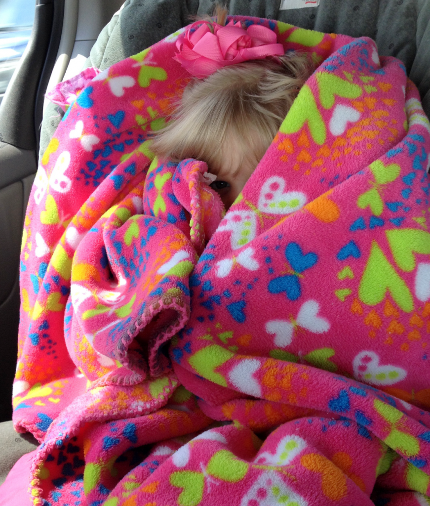 Rhema Hiding In Blanket in Van May 2014 SNAG-0004