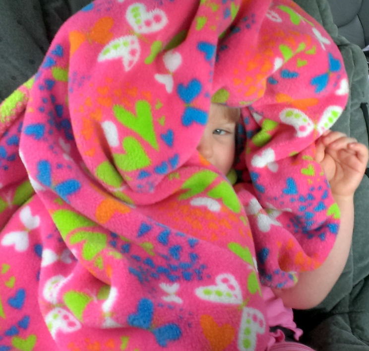 Rhema Hiding In Blanket in Van3 May 2014 SNAG-0009
