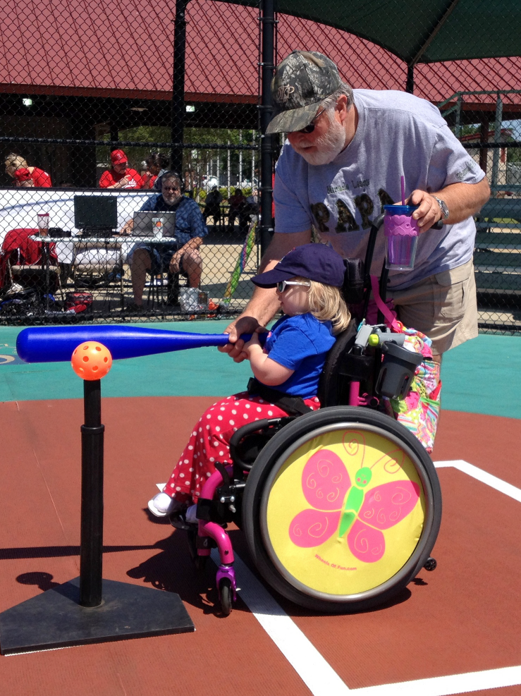 Second Baseball Game with Papa May 2014 SNAG-0015