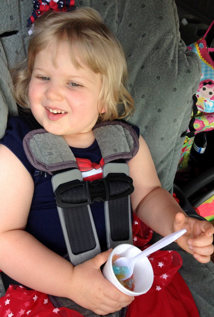 July 4th Family Outing 1st Shaved Ice July 2014 SNAG-0005