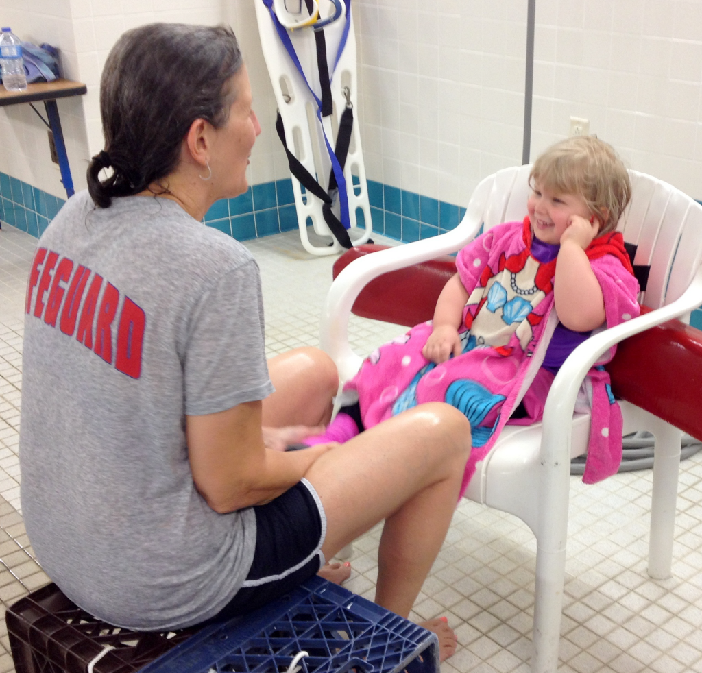 aquatic therapy coach sharon and rhema sitting July 2014 SNAG-0014