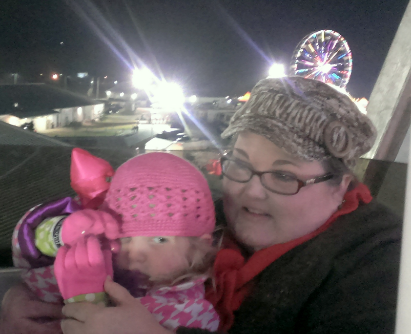 1st Farris Wheel Ride Fair and momma Nov 2014 SNAG-0001
