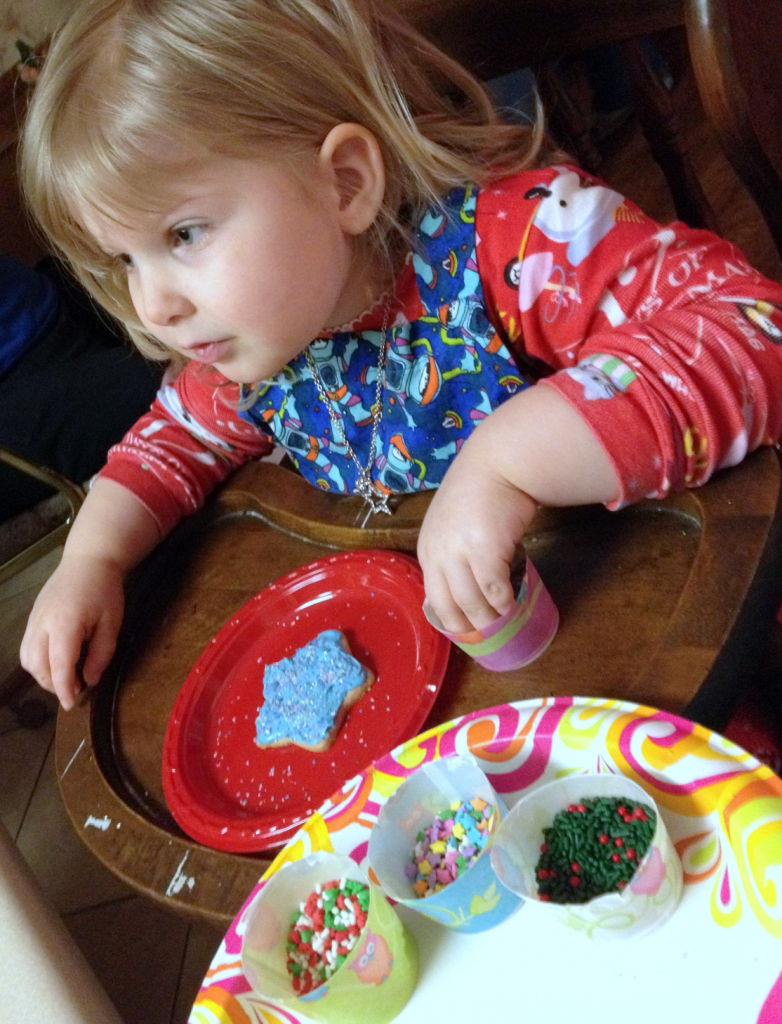 Christmas Cookies decorating Dec 2014 SNAG-0002