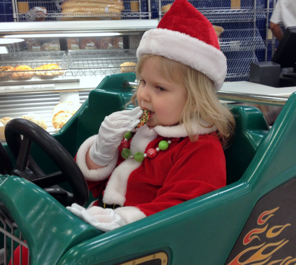 Christmas Eve Dressed as Santa Publics Buggy Dec 2014 SNAG-0003