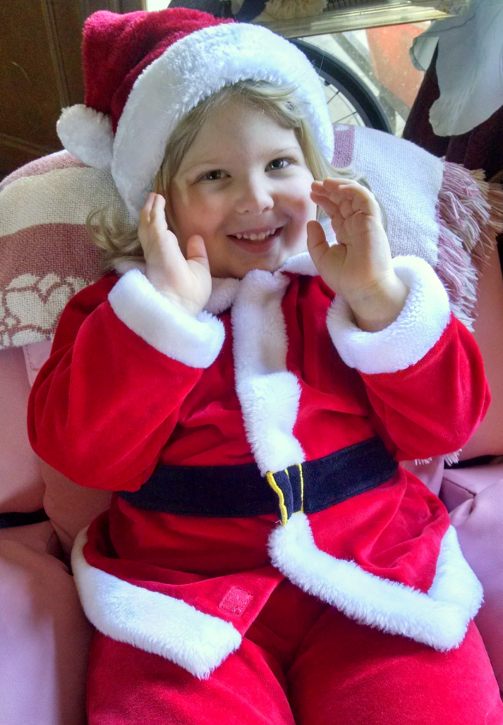 Christmas Morning Santa Dress up Dec 2014 SNAG-0000