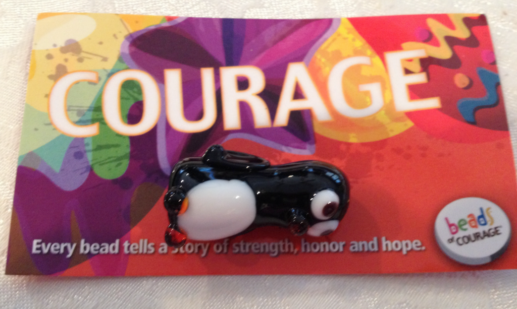 Beads of Courage Courge Learned to Walk 1st Time Bead Dec 2014 SNAG-0002